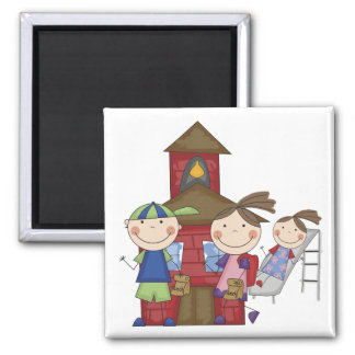Kids and Schoolhouse T-shirts and Gifts Fridge Magnets