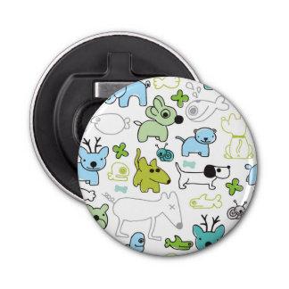 kids animal background pattern