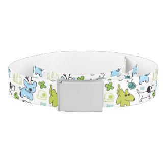 kids animal background pattern belt