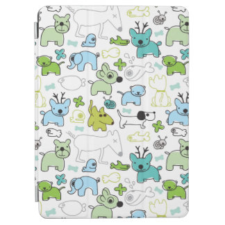 kids animal background pattern iPad air cover