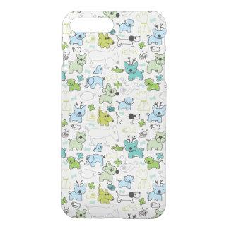 kids animal background pattern iPhone 8 plus/7 plus case