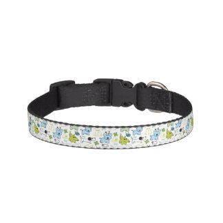 kids animal background pattern pet collar