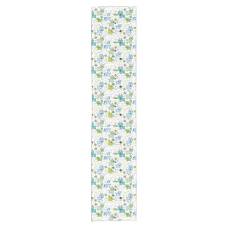 kids animal background pattern short table runner