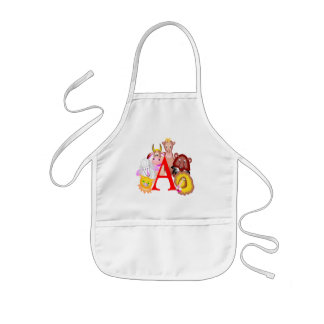 Kids Animal T Shirts and Gifts Kids' Apron