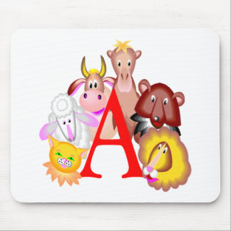 Kids Animal T Shirts and Gifts Mouse Mats