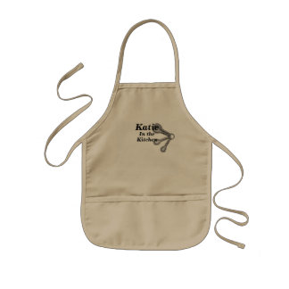 Kids Apron ADD YOUR NAME Boy or Girl Chef