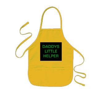 KIDS APRON Daddys Little Helper