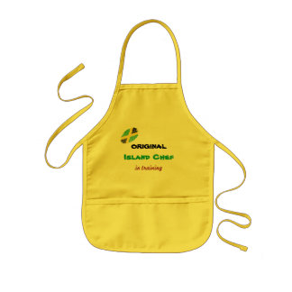 Kid's Apron - 'Island Chef'