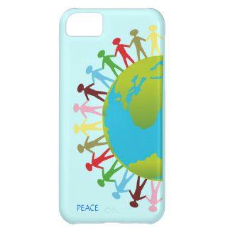 Kids Around the World Save The Planet Peace iPhone 5C Covers