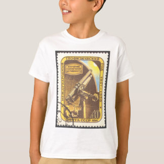 Kids Astronomy T-Shirt- USSR 1957 Astronomy Stamp T-Shirt
