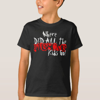 Kids Awesome T Shirt