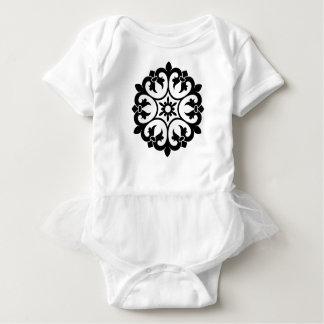 Kids baby body luxury with mandala baby bodysuit