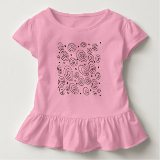 Kids baby body with Circles Toddler T-Shirt