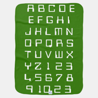 Kids Baby Children Alphabets Numbers Learn Find Baby Blanket