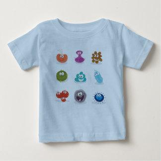 KIDS baby t shirt with Viruses