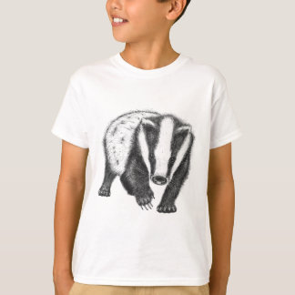 Kids Badger Art T-shirt