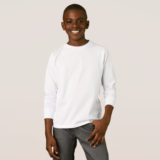 Basic Long Sleeve T-Shirt, White