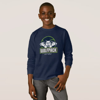 Kids' Basic Long Sleeve WolfPack T-Shirt