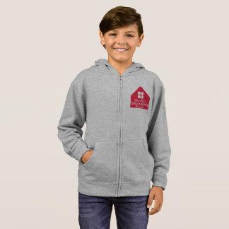 Kids' Basic Zip Hoodie - Grey