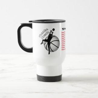 Kids Basketball Coach Gifts, Player's, Coach Names Mugs