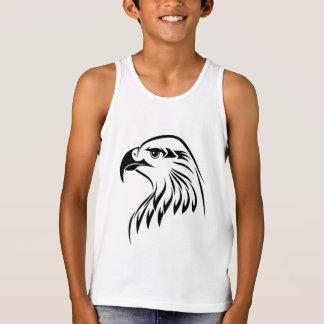 Kids' Bella+Canvas Jersey Tank Top Design Eagle