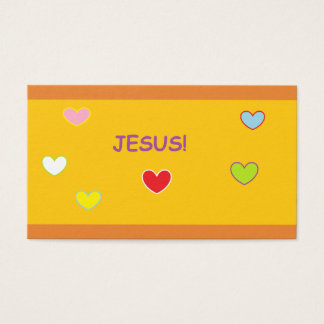 Kids Bible Day Camp Business Card