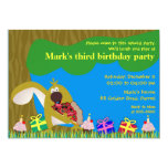 Kids birthday invitation: 041 Squirrel