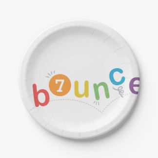 Kids birthday party paper plates