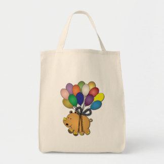 Kids birthday Party: Rhino Tote Bag