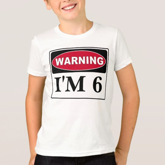 Kids Birthday Swag, Customise The Age T-Shirt