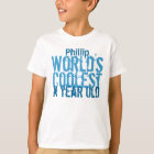 Kids Birthday Tee ANY YEAR World's Coolest V04