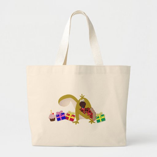 Kids Birthday themes: 041 Squirrel Tote Bag