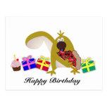 Kids Birthday themes: 041 Squirrel Postcard