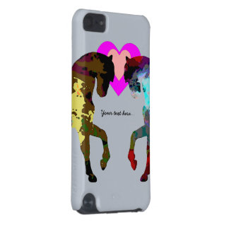 Kids Blue Pony iPod Touch 5G Covers