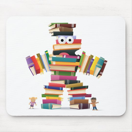 Kids Book Monster Mouse Mat