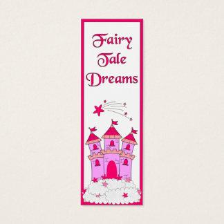 Kid's Bookmark Girls Fairy Tales Mini Business Card