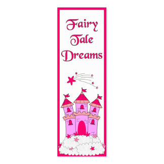 Kid's Bookmark Girls Fairy Tales Pack Of Skinny Business Cards