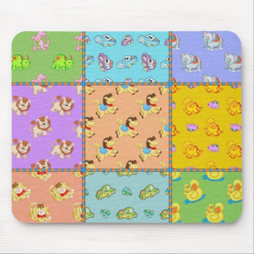 Kid's Boys Toys Mouse Pads