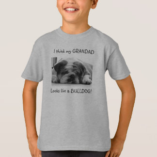 Kids bulldog T-shirt