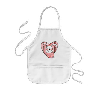 Kids Bunny Rabbit T Shirts and Gifts Kids' Apron