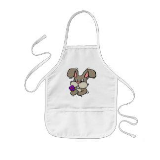 Kids Bunny Rabbit T Shirts and Gifts Kids Apron