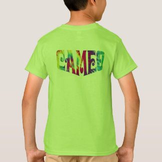 Kids Cameo t-shirt with Tie-dye Logo