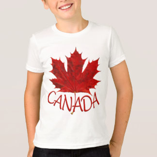 Kid's Canada Flag Baseball Jersey Souvenir Shirt