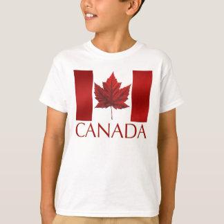 Kid's Canada Flag T-shirt Canada Kid's Tee Shirt