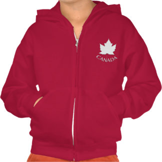 Kid's Canada Jacket Personalize Canada Hoodie