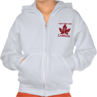 Kid's Canada Jacket Personalized Canada Hoodie