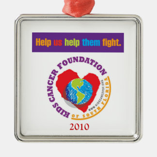 Kids Cancer Foundation Ornament