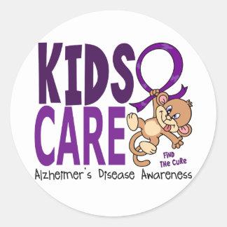 Kids Care 1 Alzheimer's Disease Stickers
