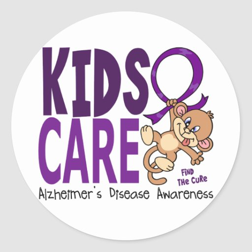 Kids Care 1 Alzheimer's Disease Stickers