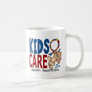Kids Care 1 Autism Basic White Mug